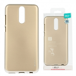 Samsung Galaxy Note 10 Plus, N975 Mercury i-Jelly szilikon tok, gold