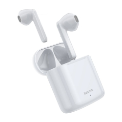 Baseus TWS Encok W09 mini earphone, Bluetooth 5.0, TWS, fehér