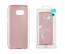 G955 Samsung S8 Plus Mercury iJelly szilikontok rose gold
